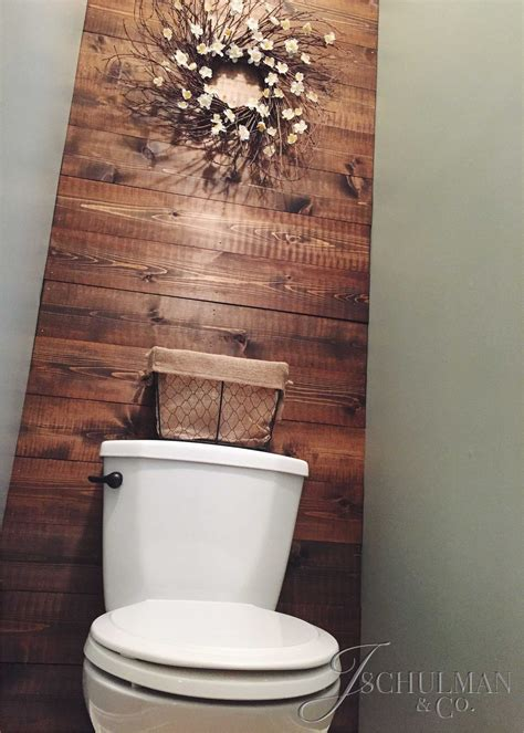Diy Wood Wall Decor For Bathroom
